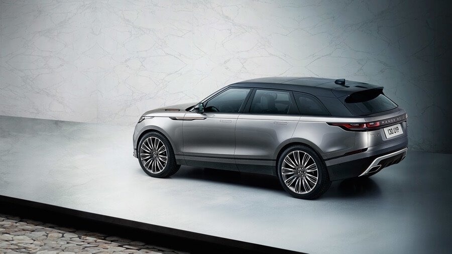 2018 Range Rover Velar rear view