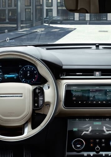 2018 Range Rover Velar interior dashboard