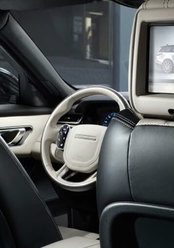 2018 Range Rover Velar interior features