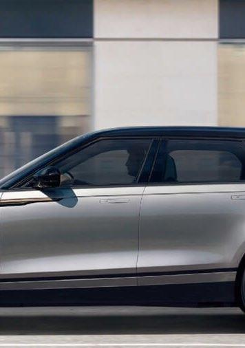 2018 Range Rover Velar profile view
