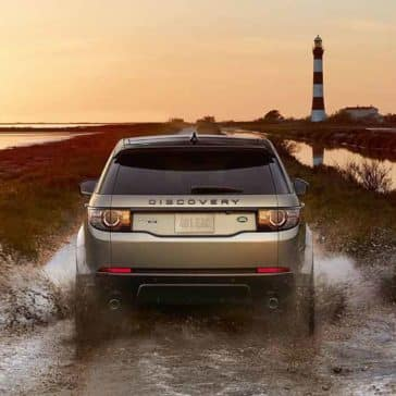 2018 Land Rover Discovery Sport Off Roading through Water