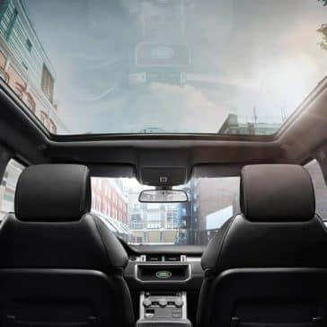 2019 Range Rover Evoque sunroof