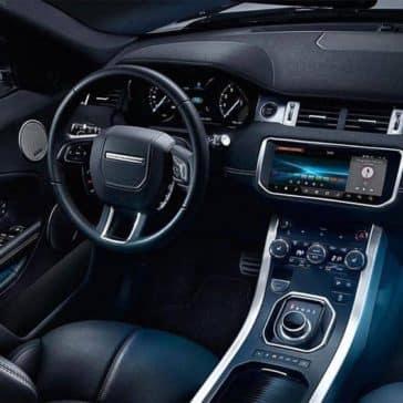 2019 Range Rover Evoque steering wheel