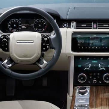 2019 Range Rover dashboard