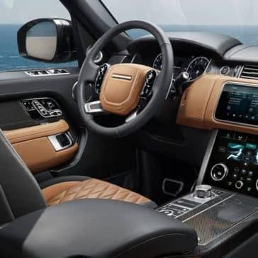 2019 Range Rover steering wheel