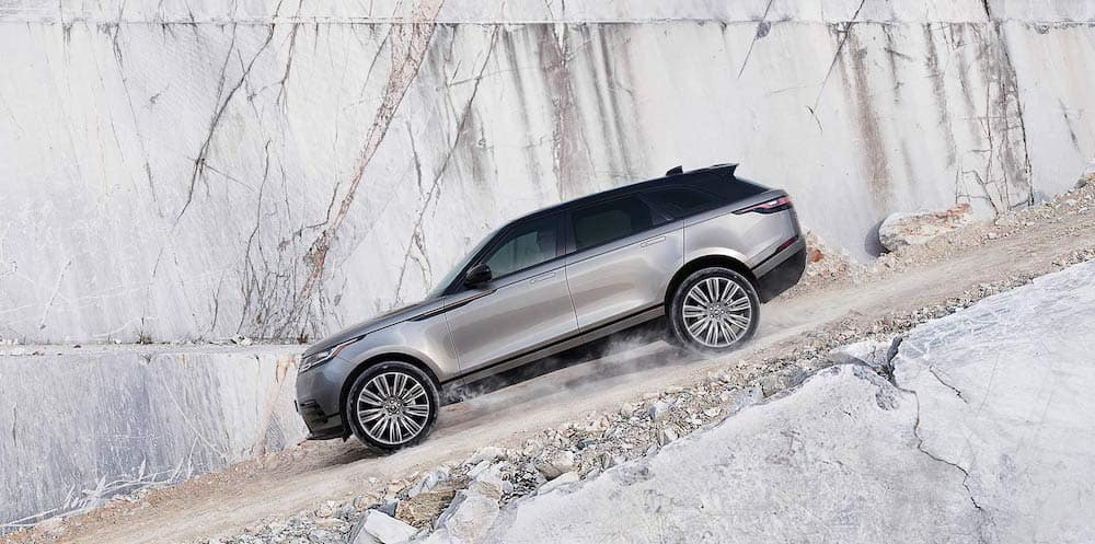 2019 Range Rover Velar going downhill