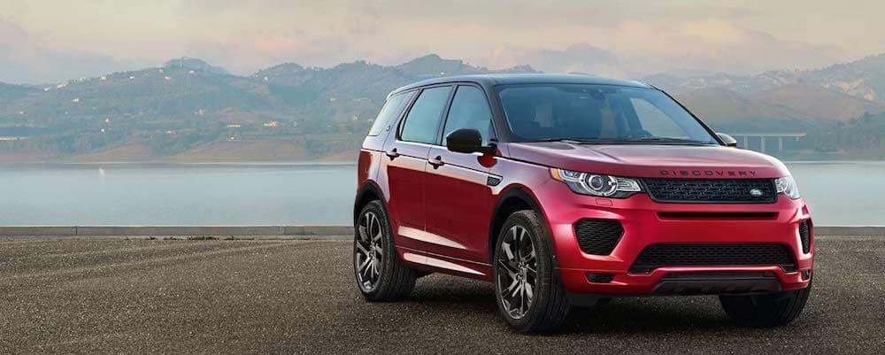 2019 Land Rover Discovery Sport in red