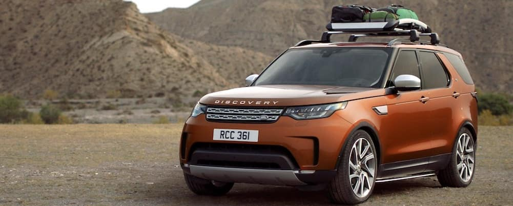 Land Rover Discovery with Roof Rack