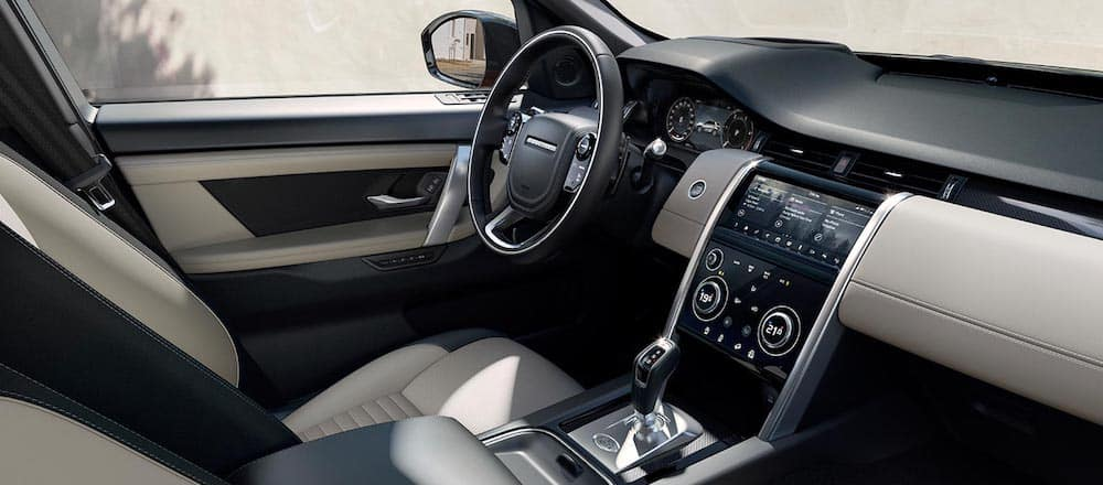 2020 Land Rover Discovery Sport interior