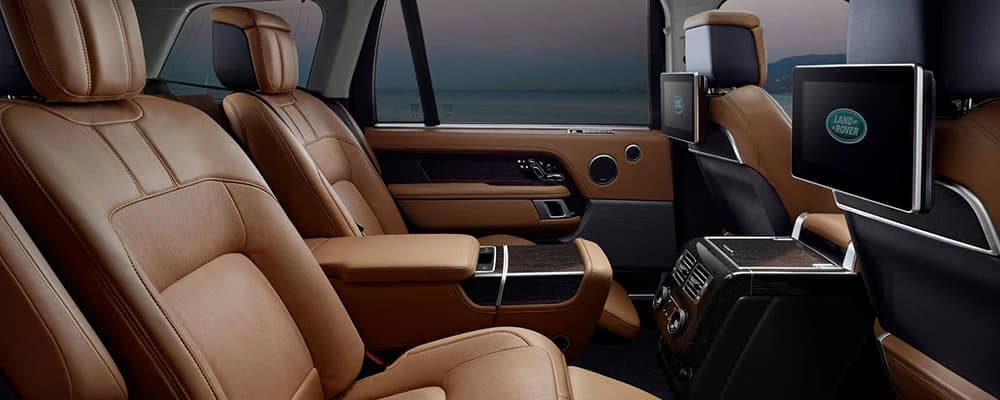 2020 Land Rover leather interior