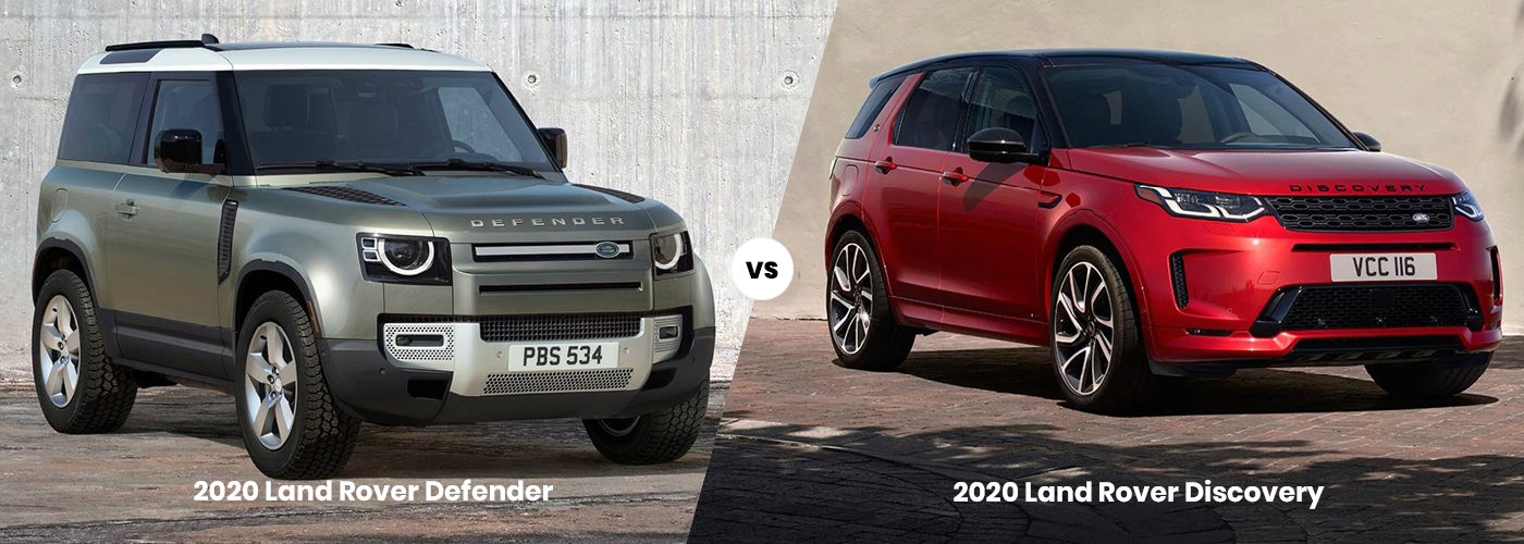2020 Land Rover Defender vs 2020 Land Rover Discovery