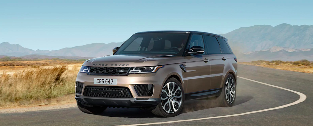2021 Range Rover Sport HSE Silver Edition on test drive near mountains
