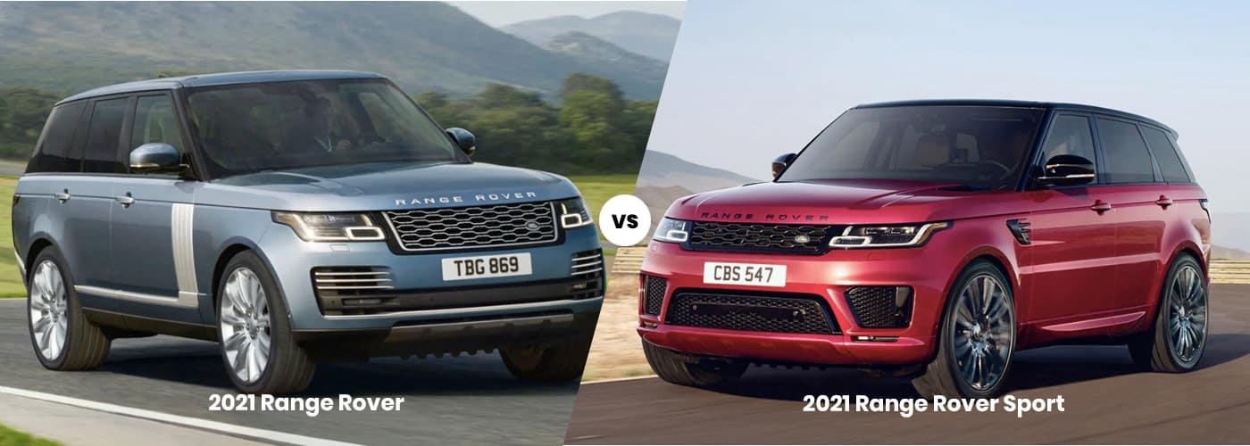 2021 Range Rover vs. Range Rover Sport