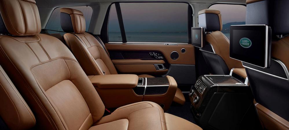 Range Rover back seats