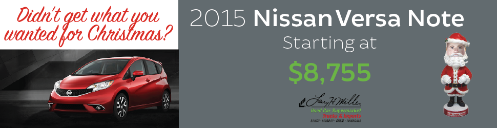 Used Nissan Versa Note For Sale in Orem