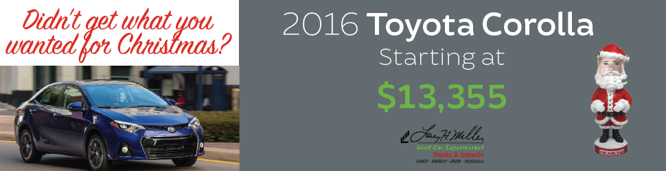 Used Toyota Corolla for Sale in Orem