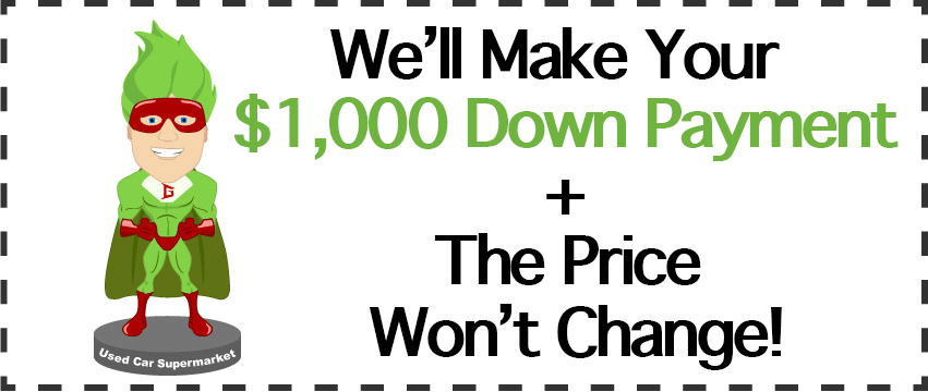 We'll Make Your $1,000 Down Payment in Orem