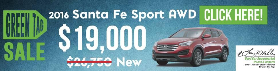 Used Santa Fe Sport in Orem