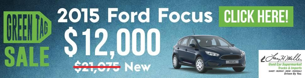 Used Ford Focus For Sale in Sandy