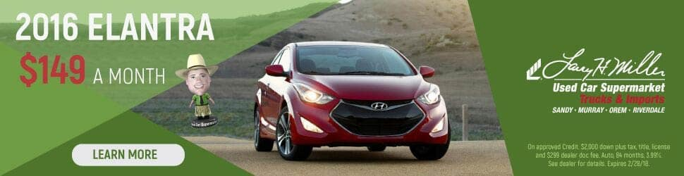 2016 hyundai elantra special at the used car supermarket. Black Bedroom Furniture Sets. Home Design Ideas