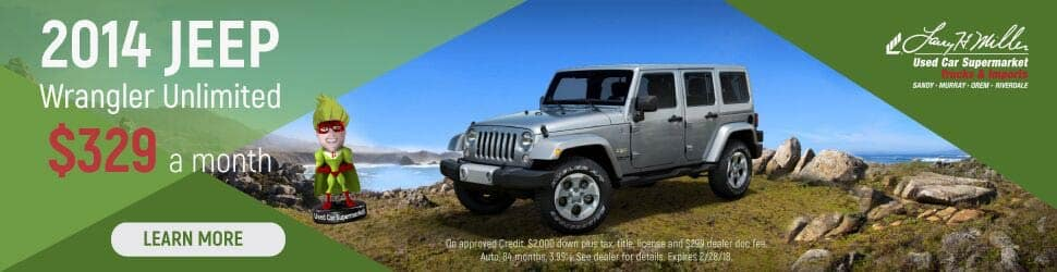 2014 Jeep Wrangler Unlimited in Orem