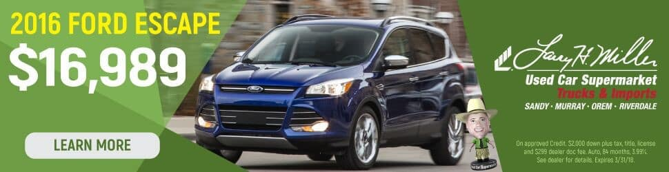Ford Escape for sale in Greater Salt Lake Area
