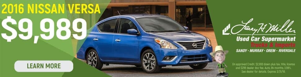 Nissan Versa for sale in Sandy