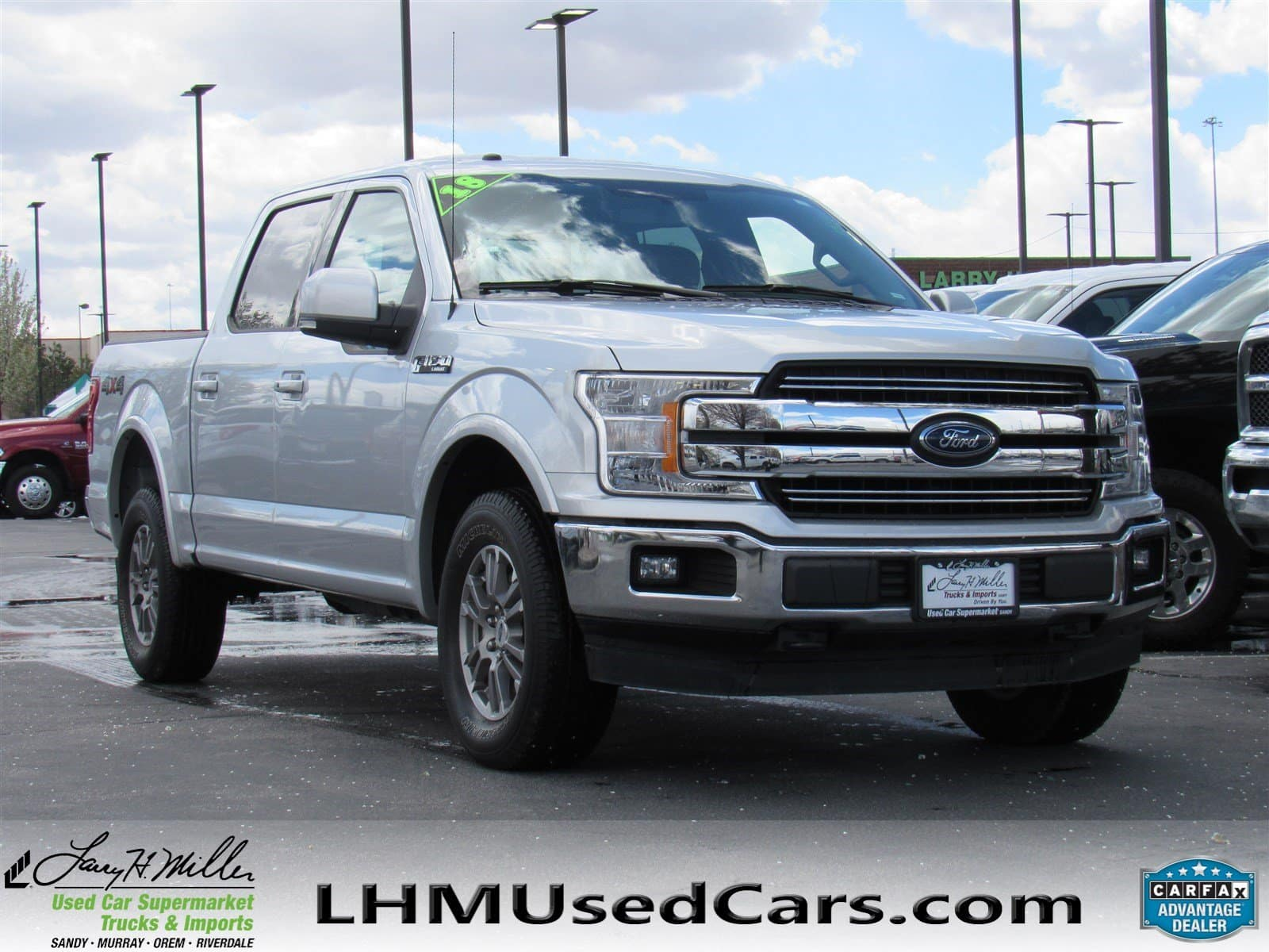 Used 2018 F-150 for sale SLC