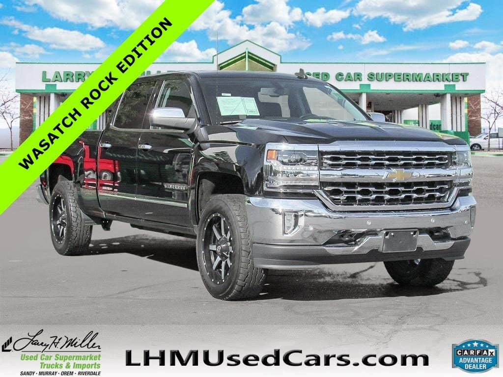 Used 2017 Chevy Silverado LTZ