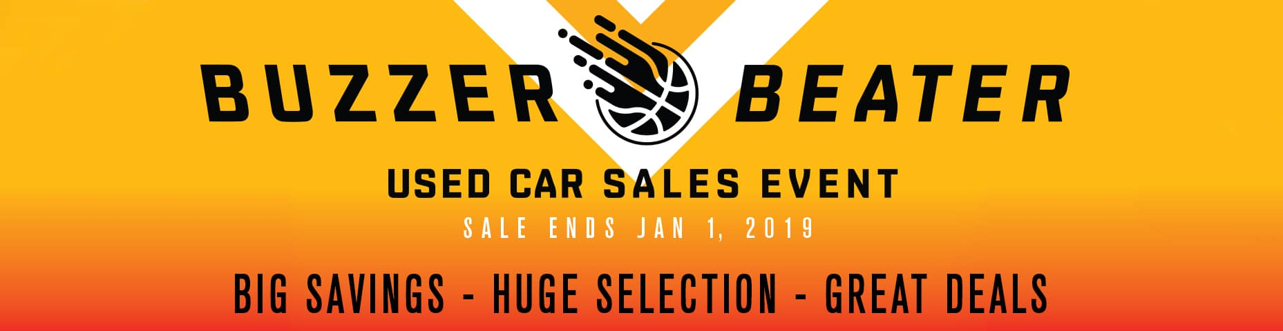 Buzzer Beater Used Car Sales Event