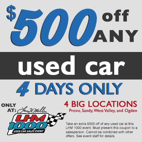 $500 Coupon LHM 1000