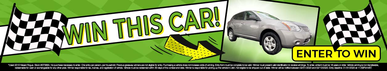 Enter to win this car!