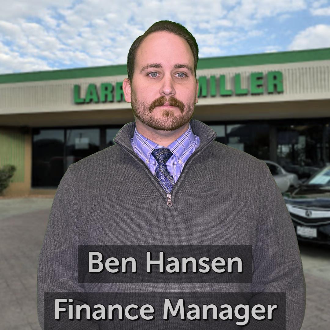 Ben Hansen Finance Manager