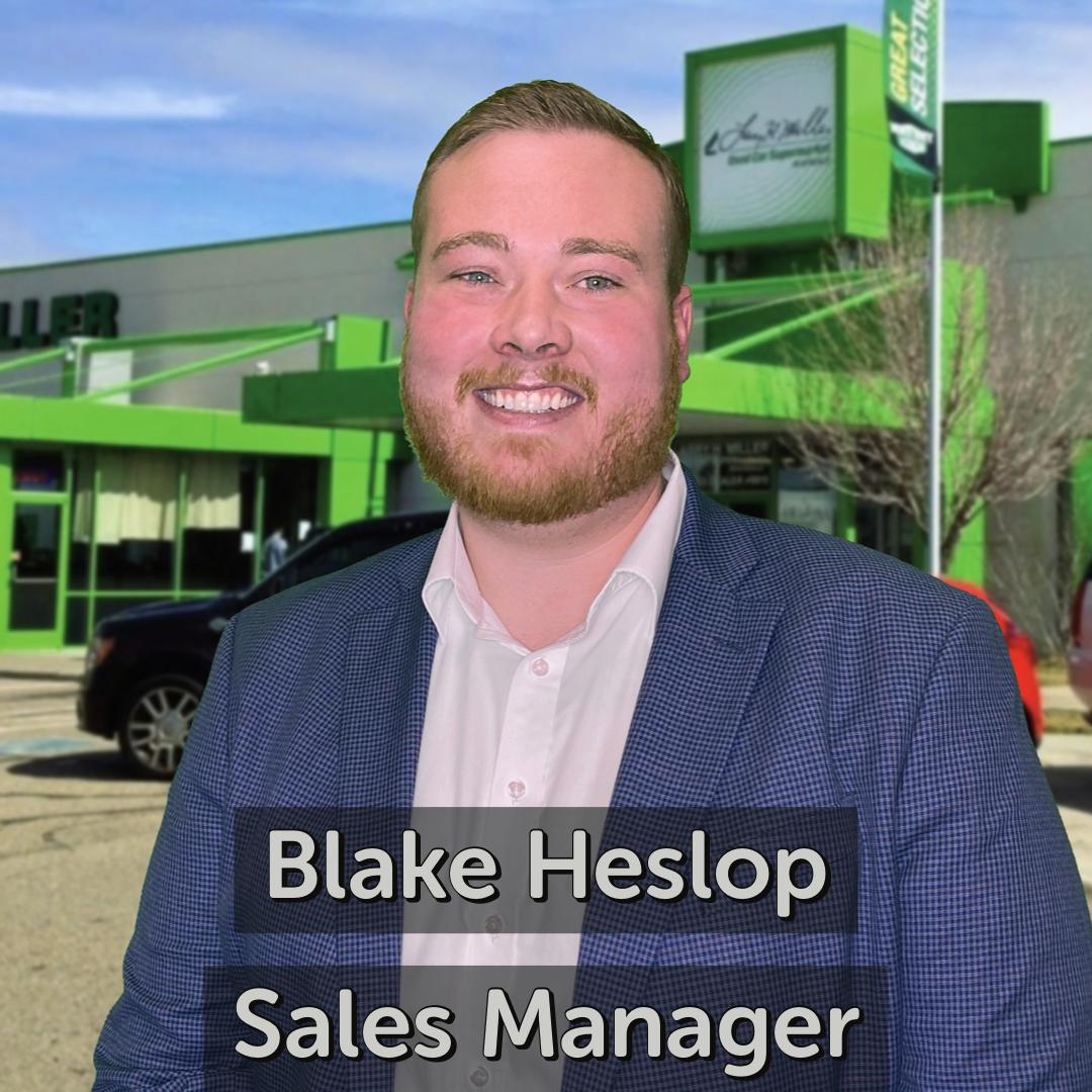 Blake Heslop Sales Manager