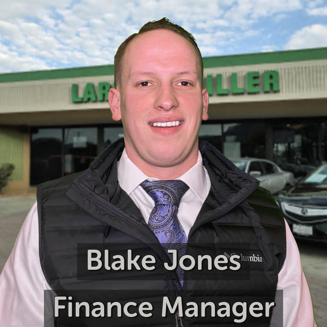 Blake Jones Finance Manager