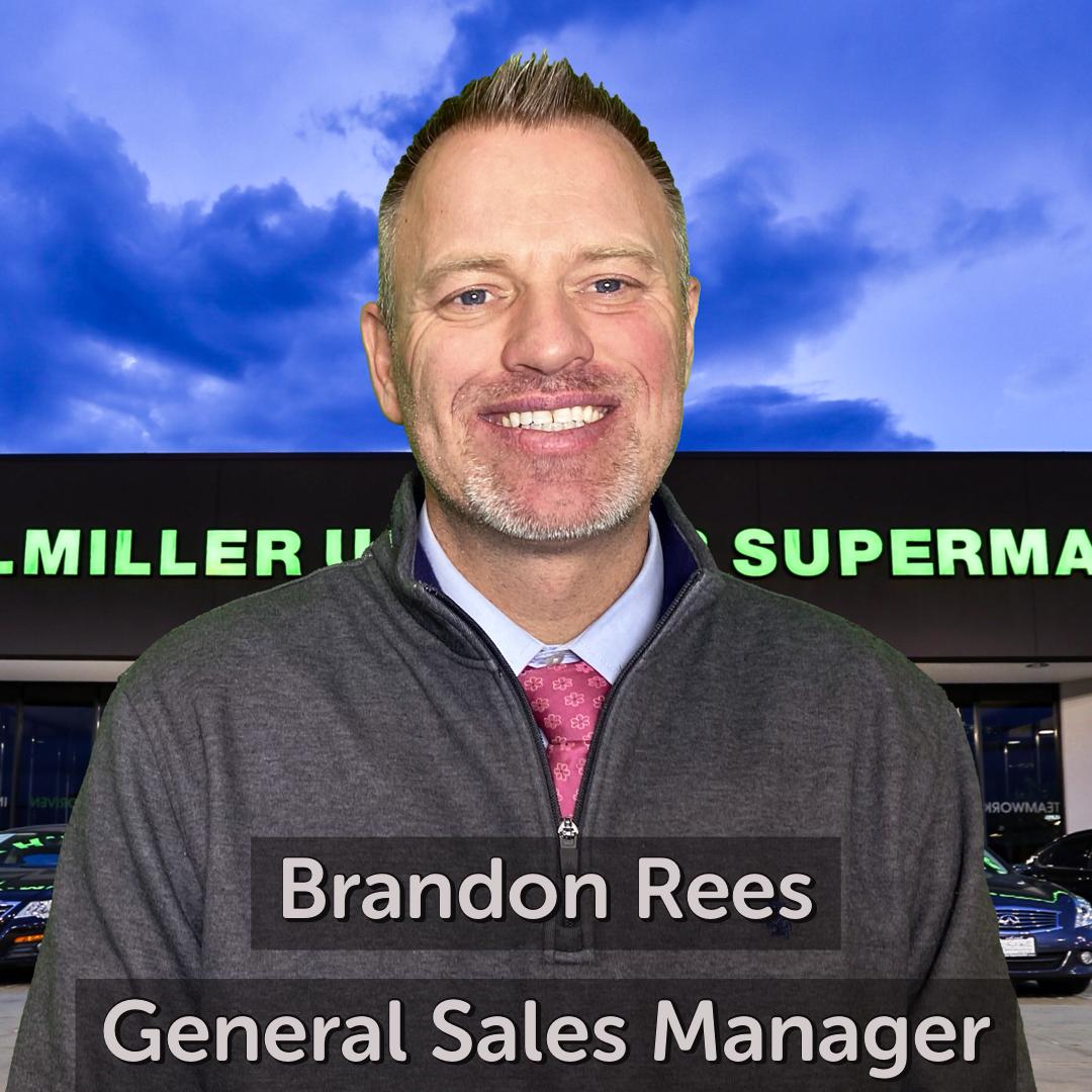 Brandon Rees General Sales Manager