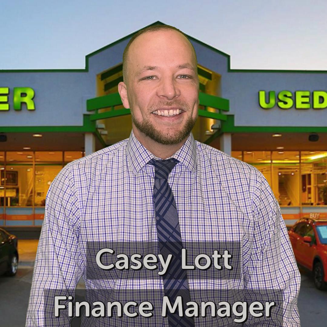 Casey Lott Finance Manager