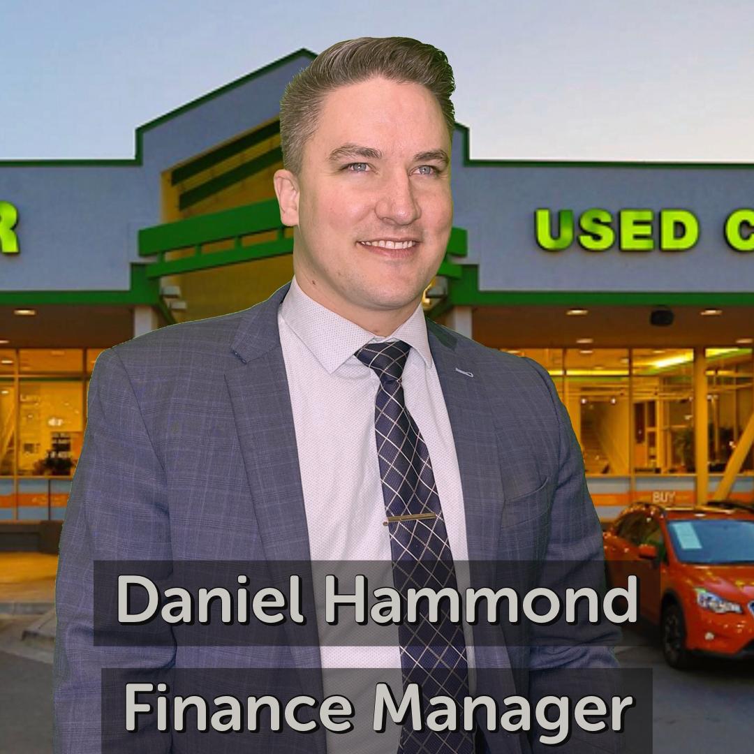 Daniel Hammond Finance Manager