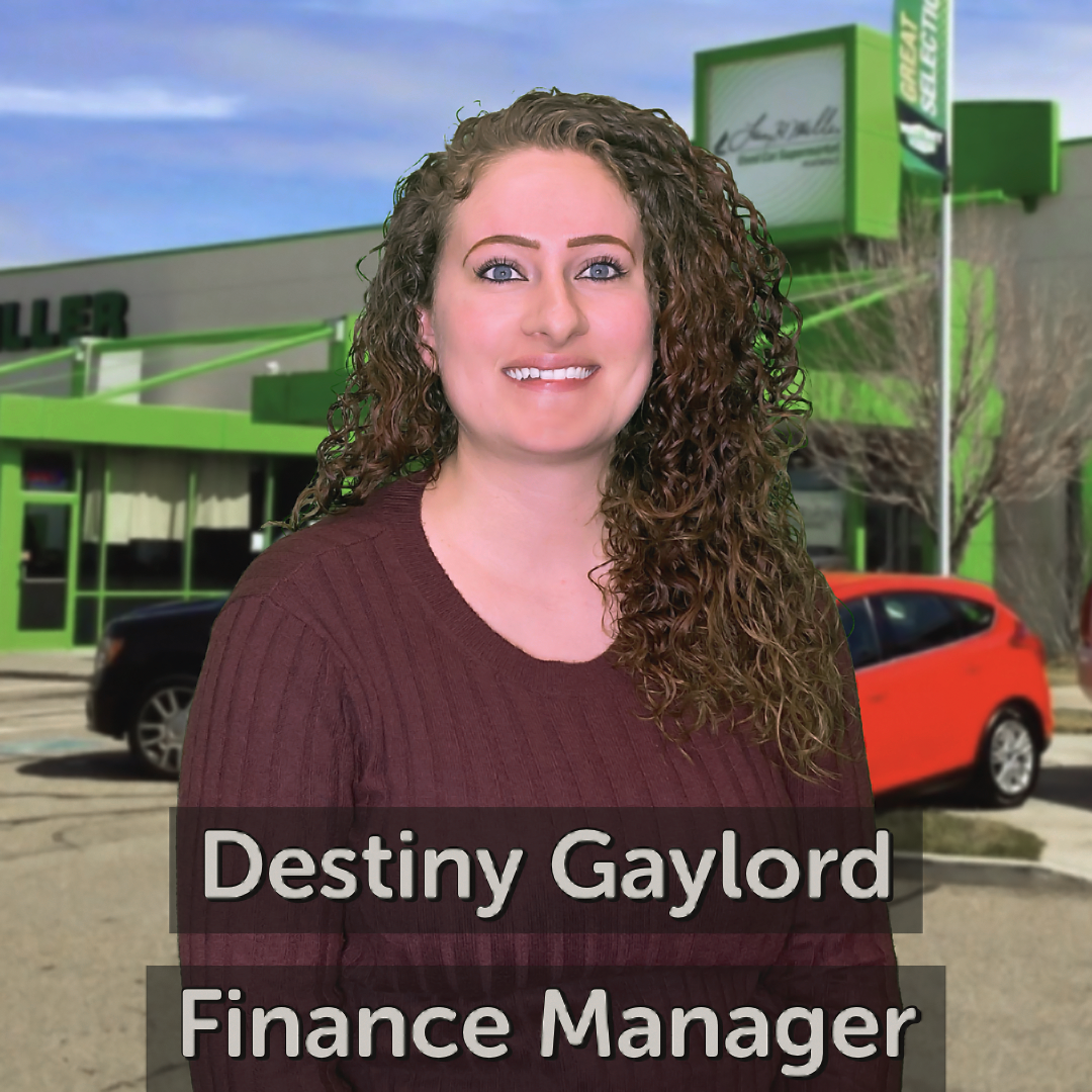 Destiny Gaylord Finance Manager