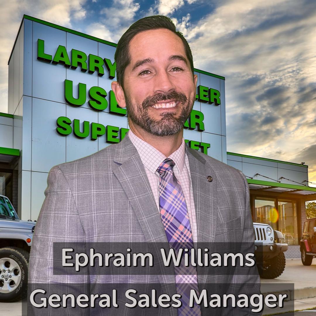 Ephraim Williams General Sales Manager