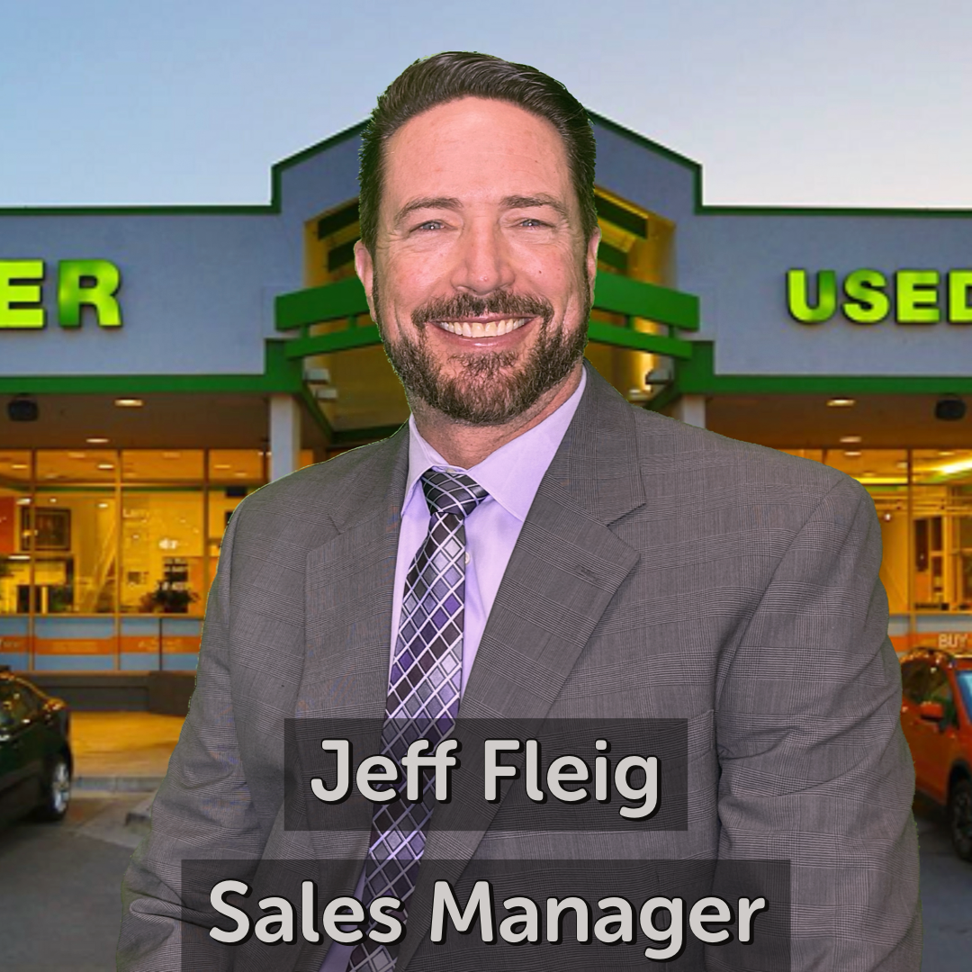 Jeff Fleig Sales Manager