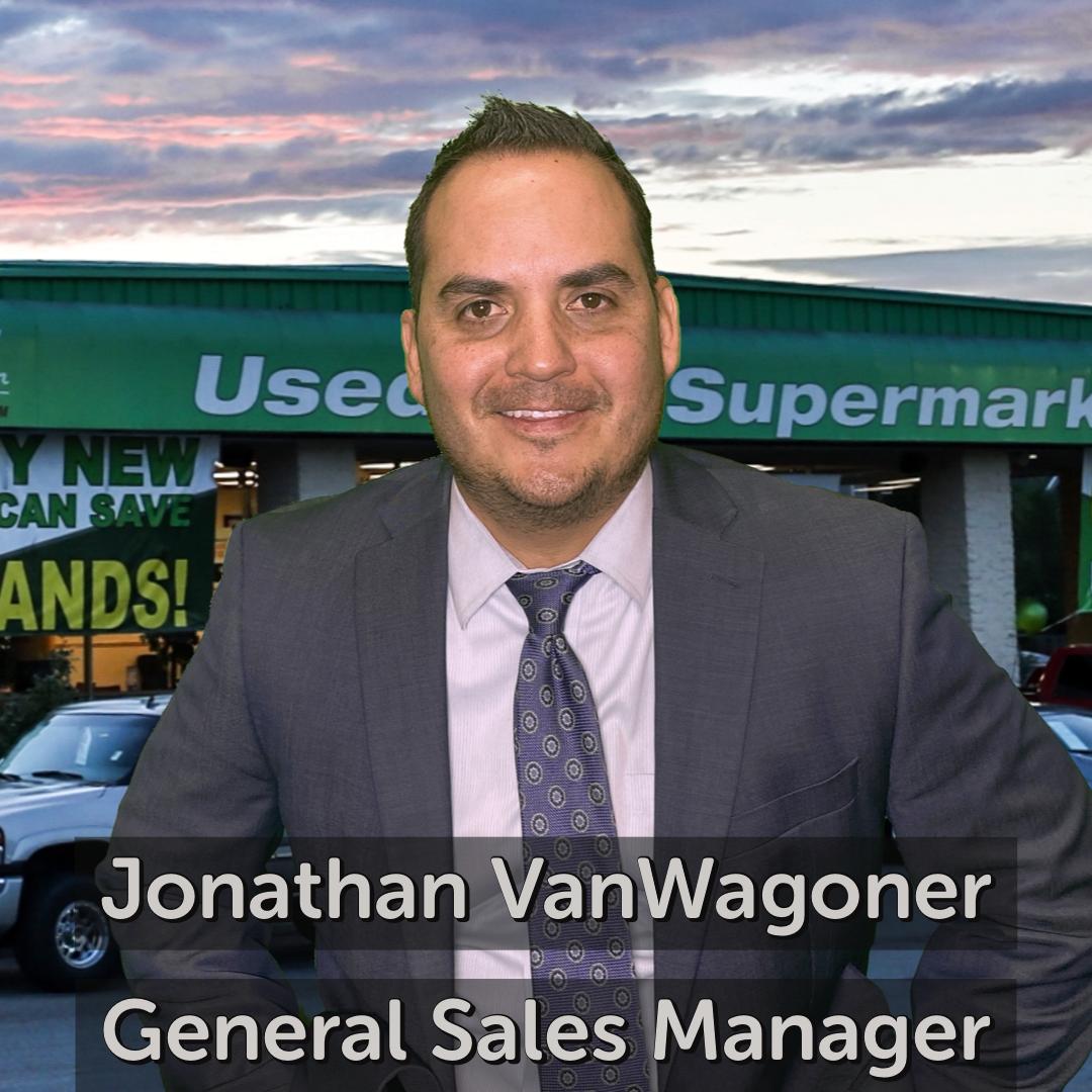 Jonathan VanWagoner General Sales Manager