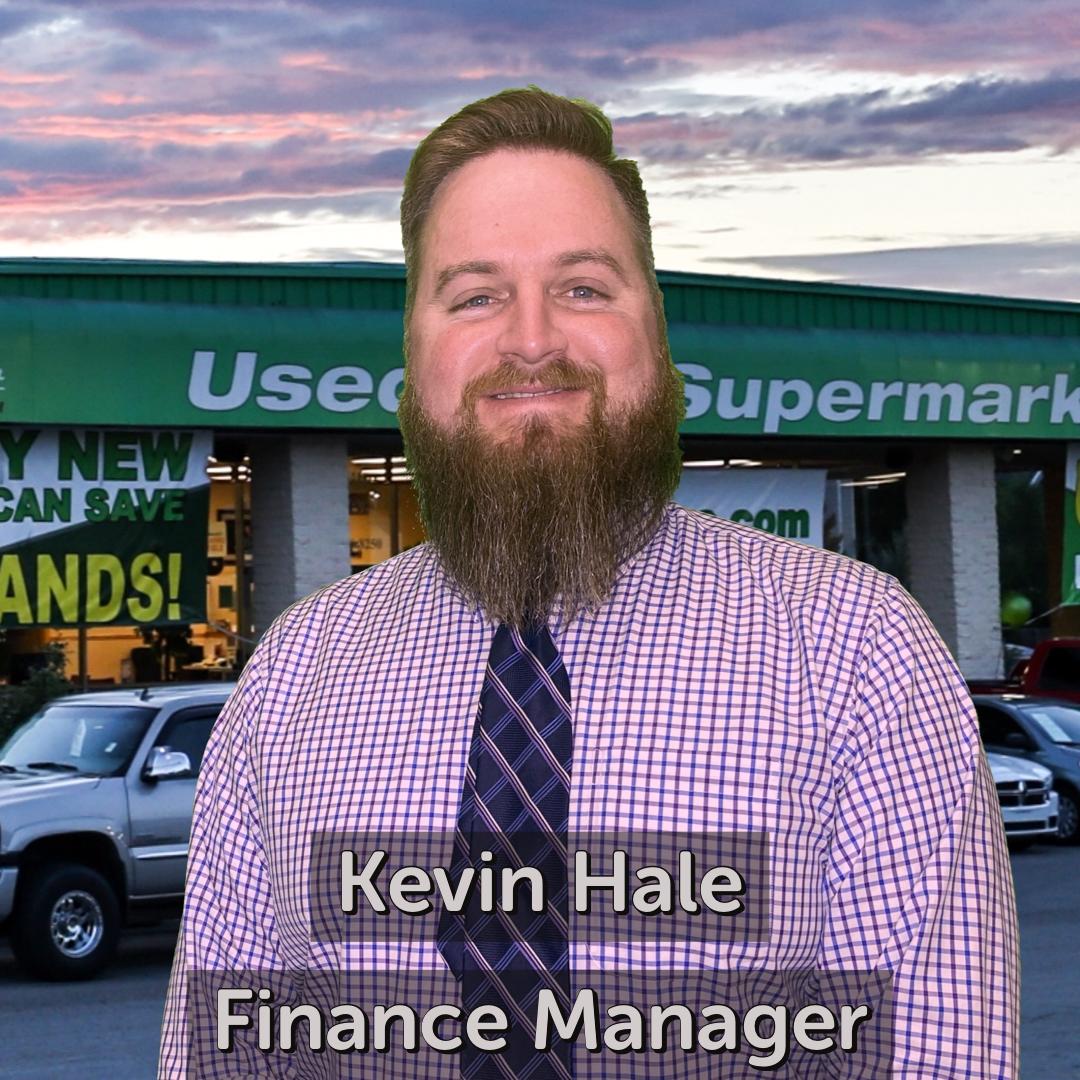 Kevin Hale Finance Manager