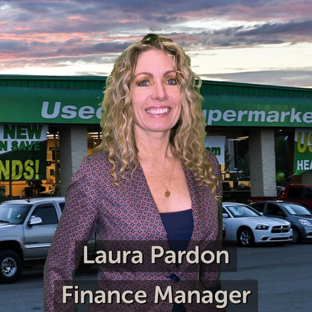 Laura Pardon Finance Manager