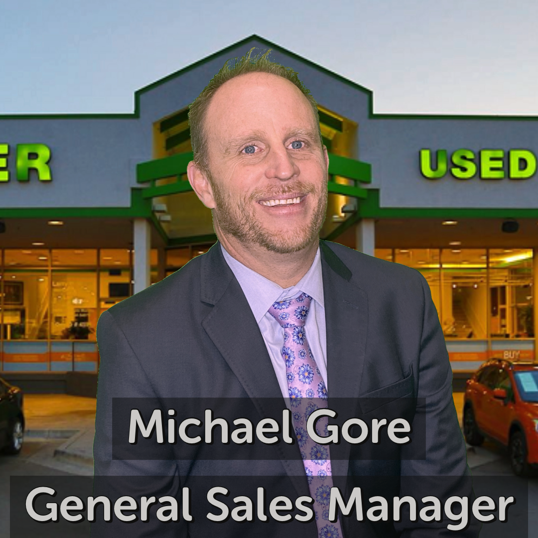 Michael Gore General Sales Manager