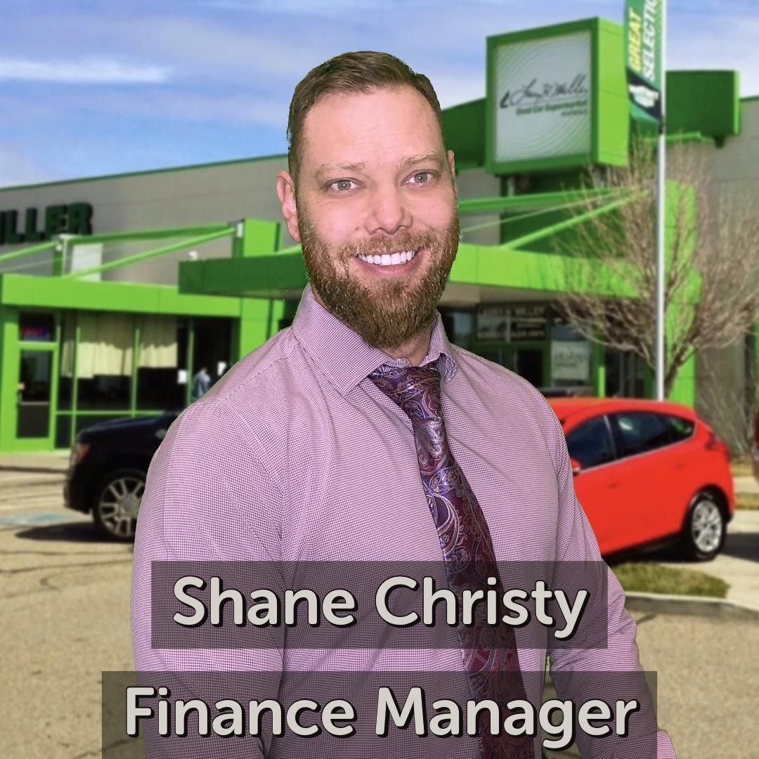 Shane Christy Finance Manager