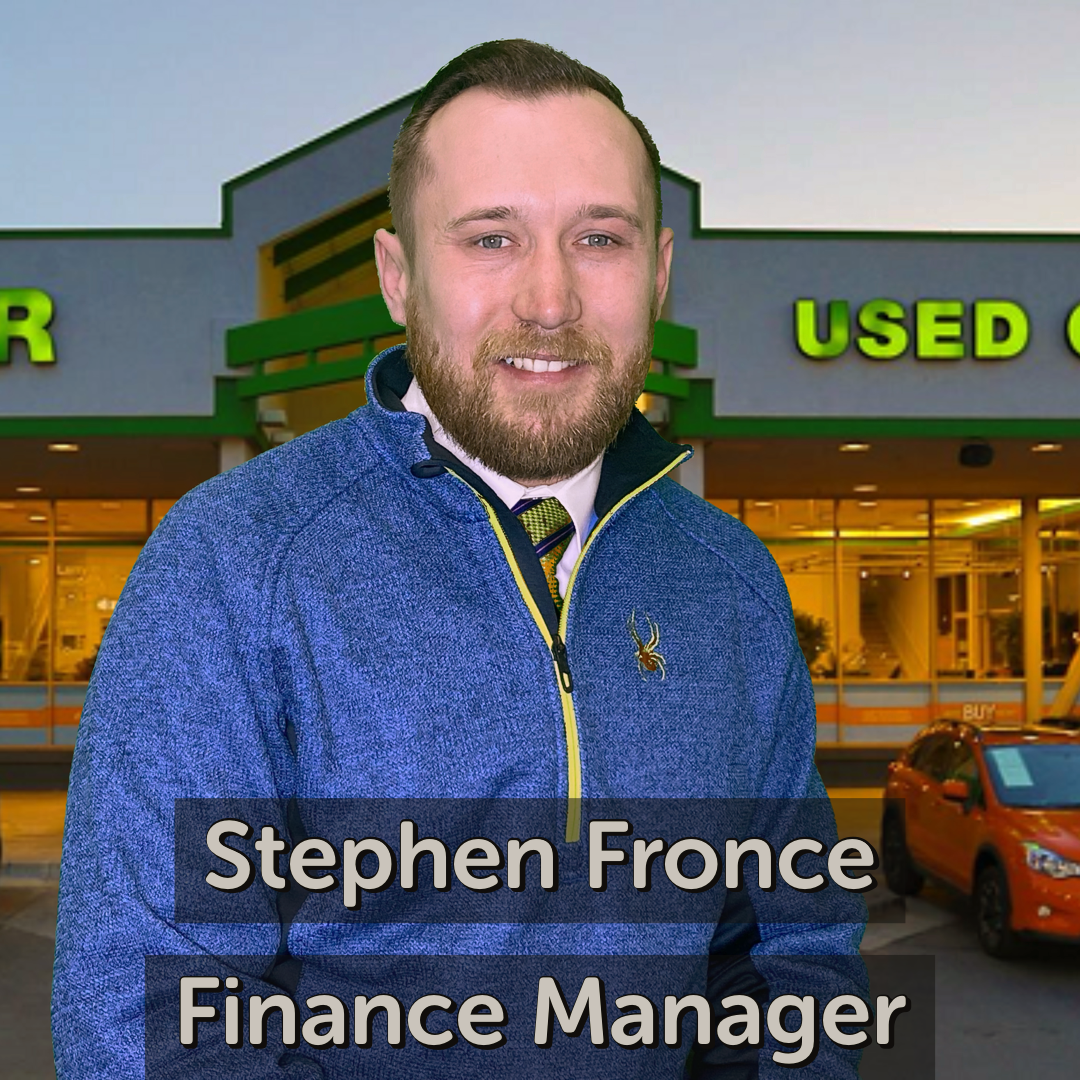 Stephen Fronce Finance Manager