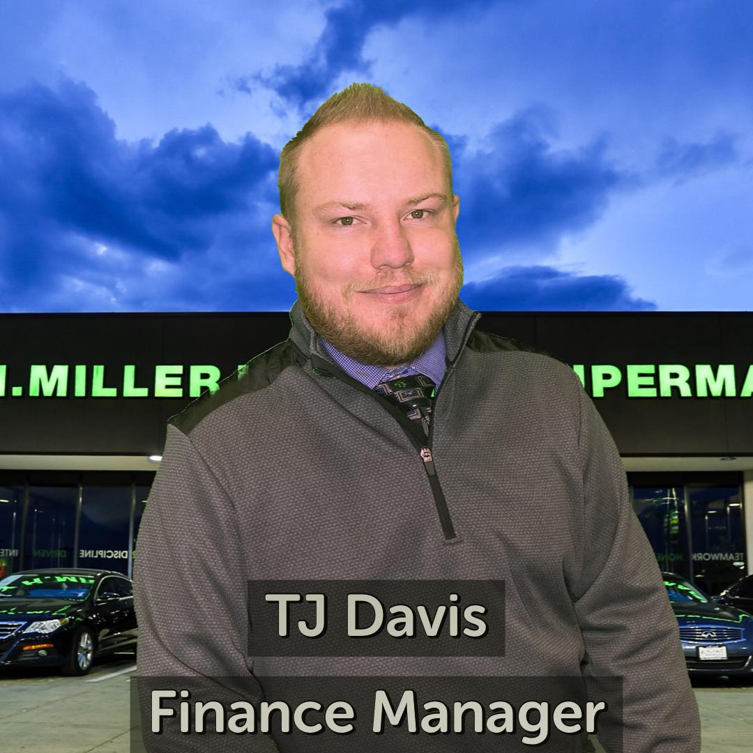 TJ Davis Finance Manager