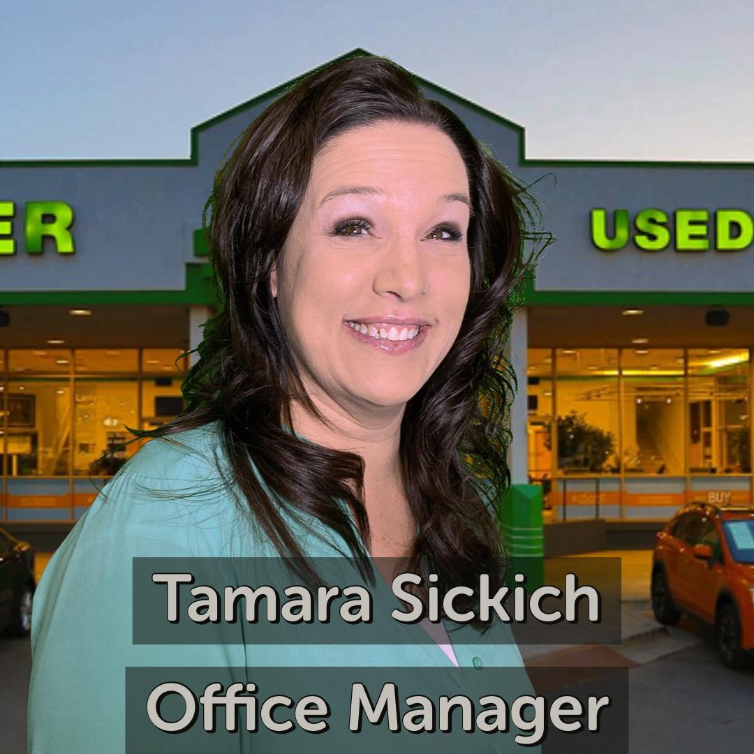 Tamara Sickich Office Manager