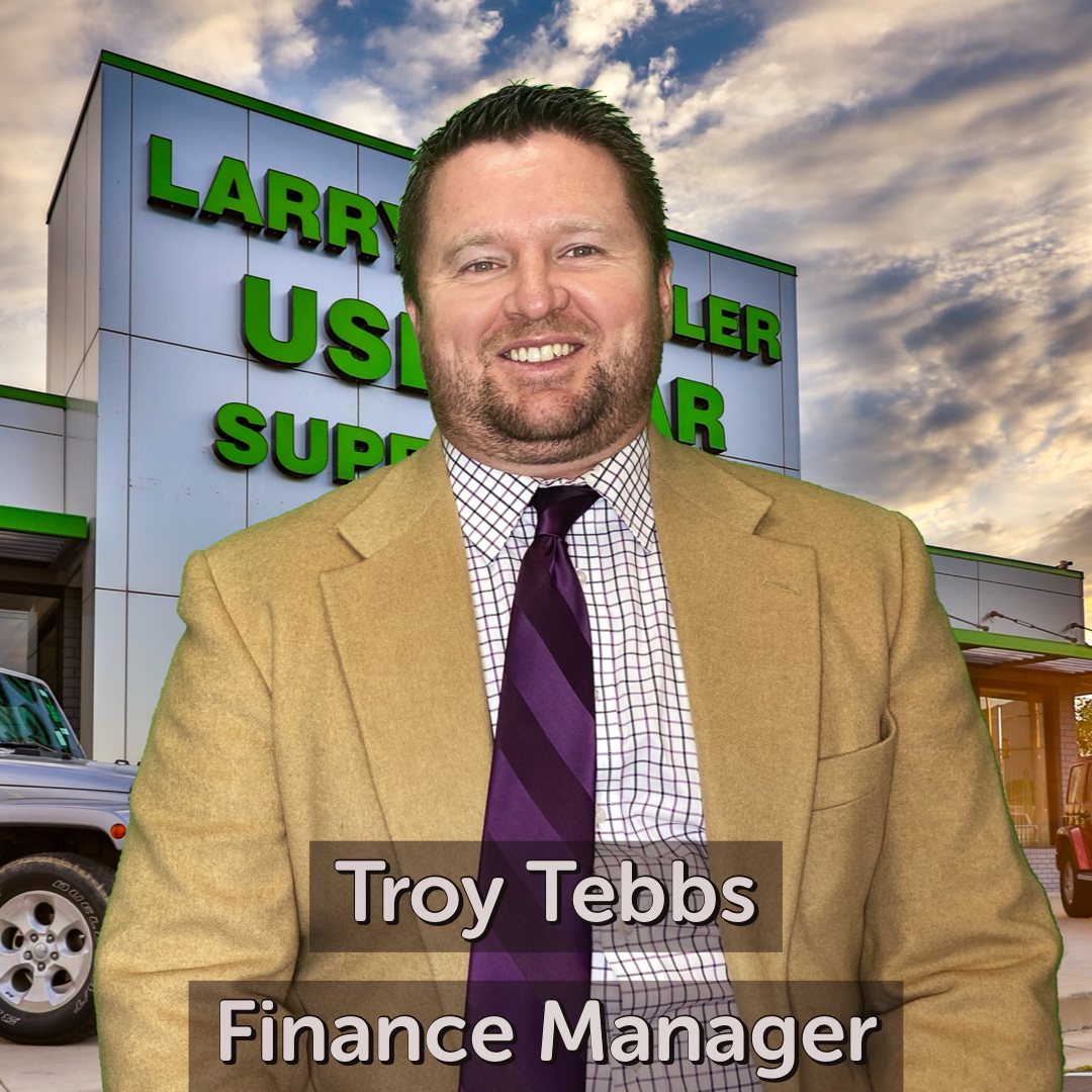 Troy Tebbs Finance Manager